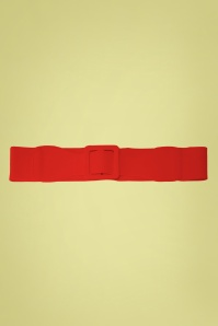 50s Ladies Day Out Square Belt in Red