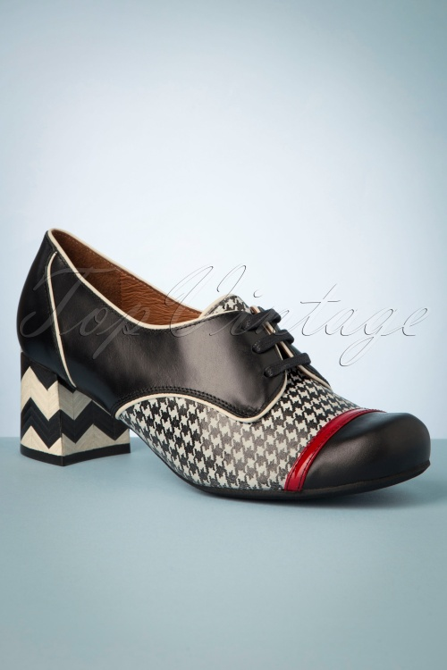 Nemonic 30299 Shoes Black Red White Bootie 20190626 014 W
