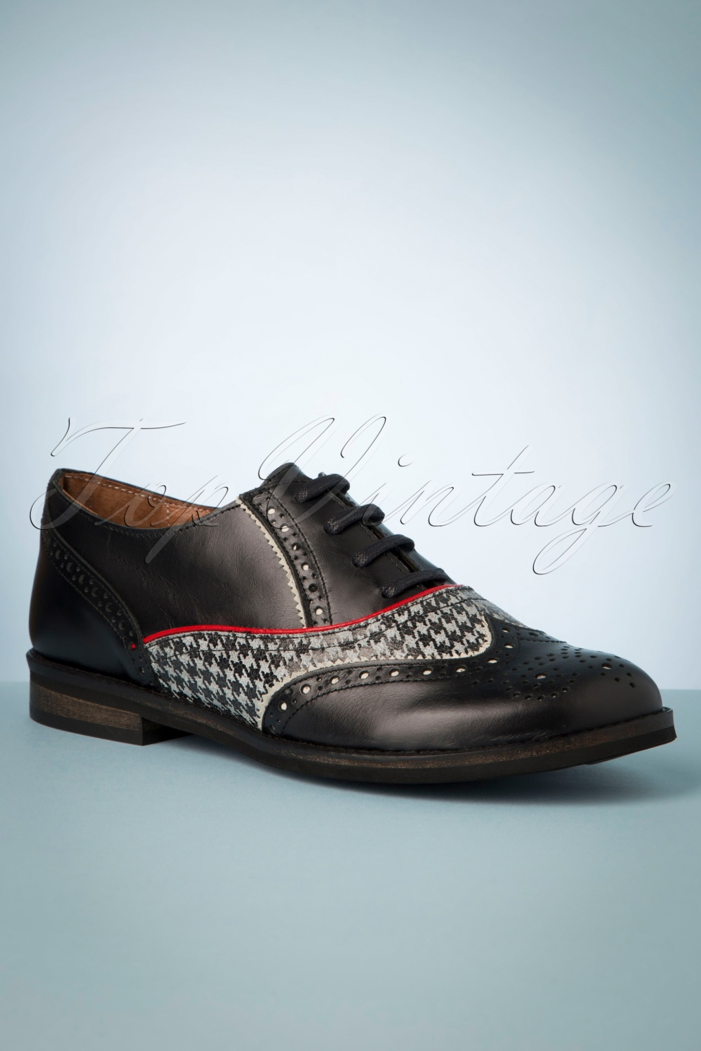 60s Shoes, Boots | 70s Shoes, Platforms, Boots 60s Madison Oxford Shoes in Black £109.19 AT vintagedancer.com