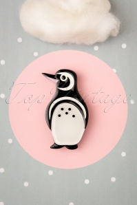 TopVintage exclusive ~ 60s Northside Wanderer Penguin Brooch