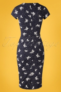 TOPVBC 31175 Pencildress Navy Butterfly Dots 07012019 0009W