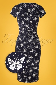 TOPVBC 31175 Pencildress Navy Butterfly Dots 07012019 0004Z