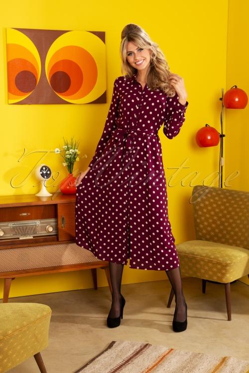 King Louie 29371 60s Rosie Polkadot Dress 20190624 1W