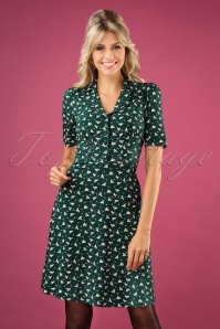 King Louie 29408 60s Diner Bird Dress 20190627 1W