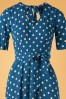 King Louie 29372 70s Shilhoh Polkadot Dress 20190624 003V