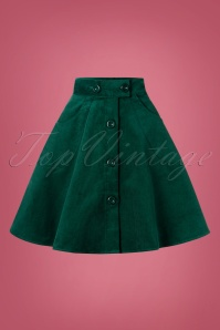 Bunny 30732 Wonder Years Dark Green Skirt 20190704 003W