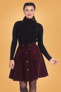 Bunny 30733 Wonder Years Dark Purple Skirt 20190704 01