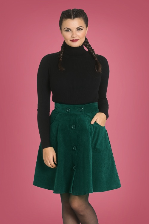 Bunny 30732 Wonder Years Dark Green Skirt 20190704 1