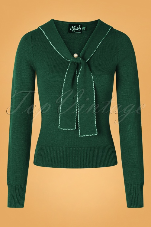Bunny 30710 Connie Jumper in Dark Green 20190704 002W