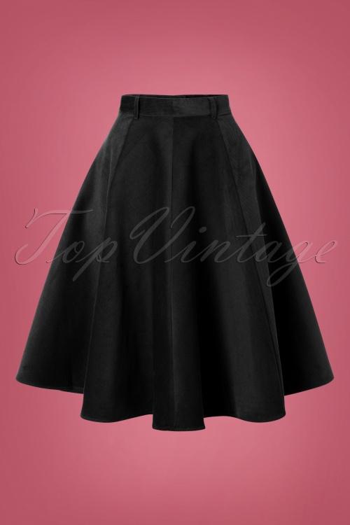Bunny 30728 Jefferson Skirt in Black 20190704 002W