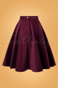 Bunny 30730 Jefferson Skirt in Wine Red 20190704 009W