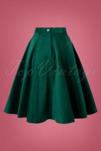 Bunny 30729 Jefferson Skirt in Dark Green 20190704 009W