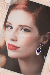 Vixen 30570 Saphire Jewels Earrings Blue Silver 20190620 009W