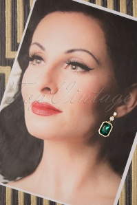 Vixen 30568 Green Earrings Gold 20190620 013 W