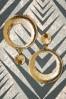Vixen 30565 Celine Disc Earrings Gold 20190620 016W