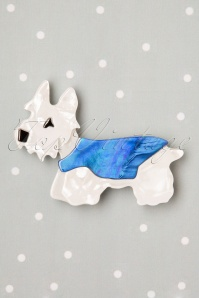 Hamish Scotty Dog Brooch Années 50