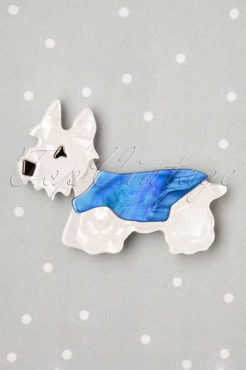 Vixen Hamish Dog BlueWhite 27880