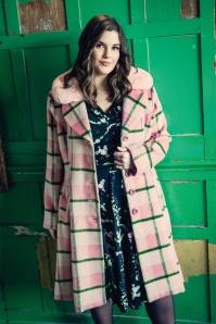 Bunny 30751 Millicent Coat in Pink 20190704 020L