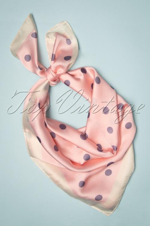 Louche 30850 Roxanne Scarf Pink20190709 004W