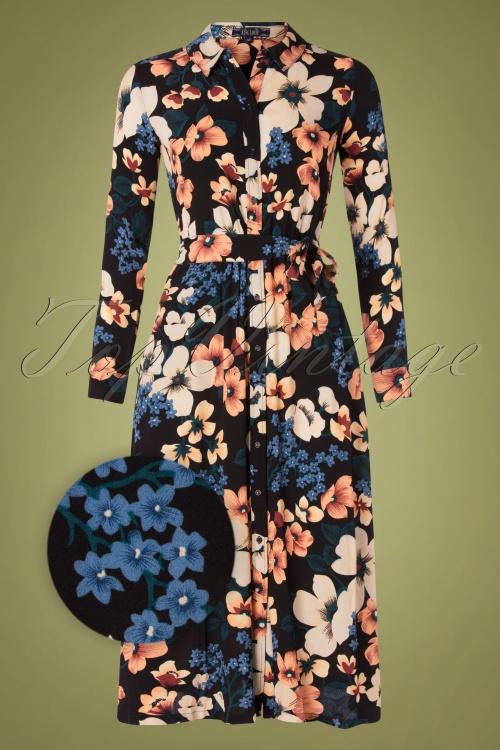 King Louie 29472 Olive Midi Dress Tennessee Black20190705 002Z