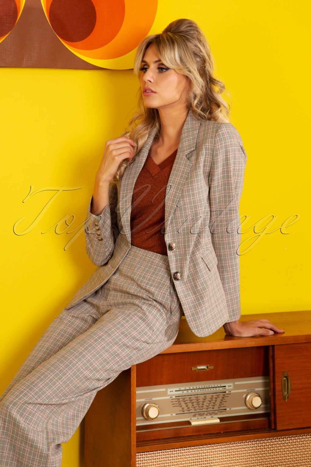 Women's 1940s Victory Suits and Utility Suits 40s Daisy Connery Blazer in Beige £94.29 AT vintagedancer.com