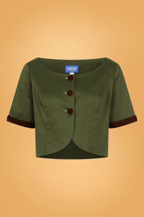 Collectif 29895 Dale Jacket in Green 20190430 021LW