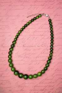 Collectif 30485 Necklace Set Green 20190715 0001W