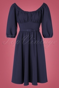 Vixen 31081 Swingdress navy Vacation 20190716 0005W