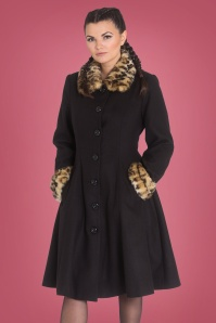 Bunny 50s Robinson Coat in Black