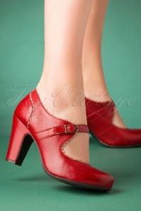 Miz Mooz 30045 Kansas mary Jane Red Beige Pump Heels 20190618 015 W