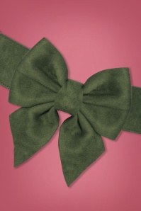 Collectif 30452 Deanna Plain Bow Belt Green 20190712 003