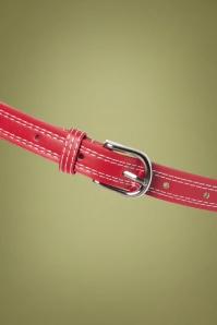 Collectif 30456 Lynn Thin Belt Red20190712 008