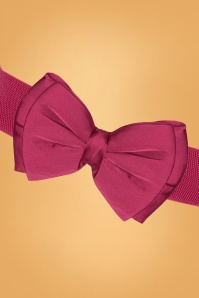 Collectif 30410 Bella Bow Belt Fuschia20190712 007