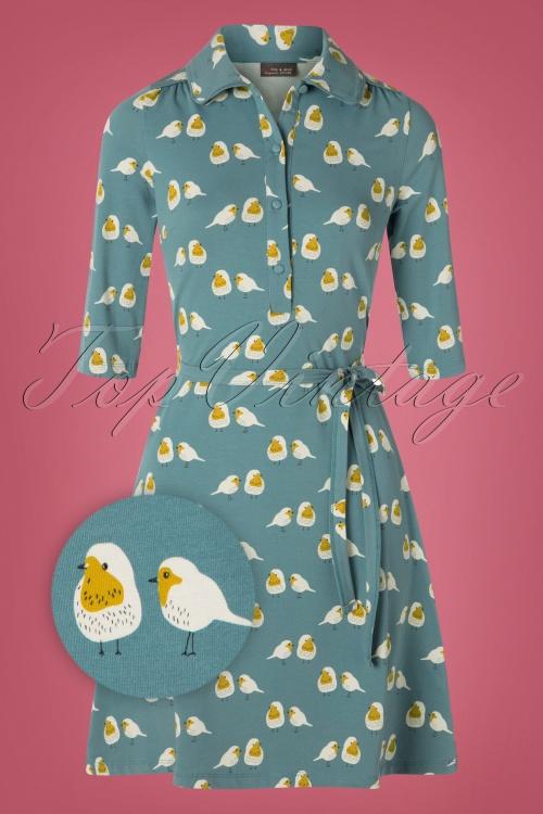 Froy & Dind 29137 Robin Blue Dress 20190717 002Z