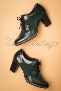 Tamaris 29653 Emerald Bootie Green Heels 20190717 018W