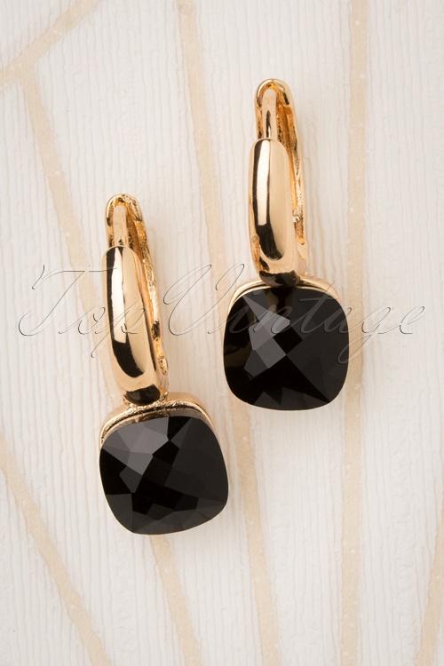 Glamfemme 31299 Earrings Gold Orange 20190717 001 W