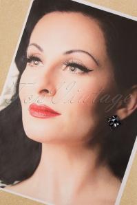 Glamfemme 31314 Earrings Gold Black 20190717 006 W
