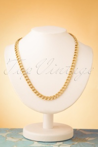 Glamfemme 50s Elaine Necklace in Gold