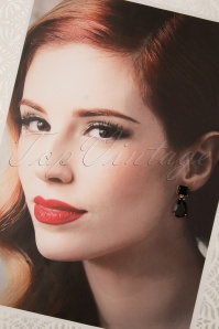 Glammfemme 31309 Earring Black Gold 20190718 000007 W