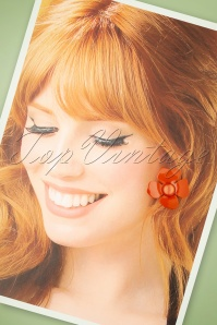 Glammfemme 31297 Earring Coral Flower 07182019 000012W