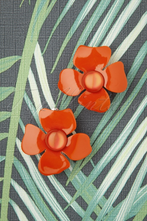 Glammfemme 31297 Earring Coral Flower 07182019 000007W