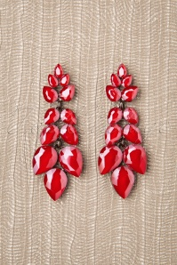 Glammfemme 31315 Earring Red Long 20190718 000012W