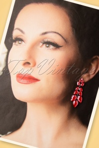 Glammfemme 31315 Earring Red Long 20190718 000003W