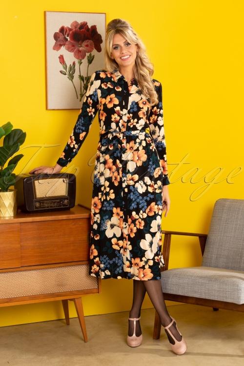 King Louie 29472 Olive Midi Dress Tennessee Black20190705 040MW