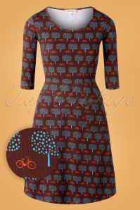 Cissi 30100 Swingdress Alinedress Ester Brown Bike Trees 07192019 0001W1