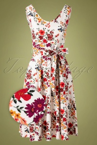 Lady Vintage 30854 Swingdress White Floral Charlotte 07192019 000002Z