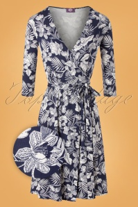 TOPVBC 31172 Swingdress Navy White Floral 07222019 000004Z