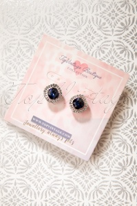 TopVintage Boutique Collection 31290 Blue Sapphire Earrings 20190719 004W