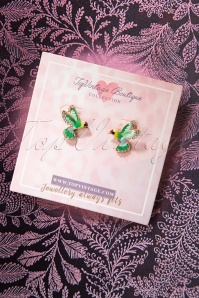 TopVintage Boutique Collection 30494 Hommingbird Earrings 20190719 003W