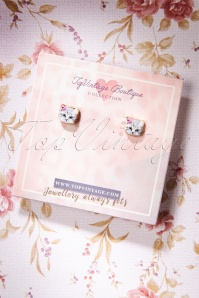 TopVintage Boutique Collection 30493 Cats Earrings 20190719 007 Wjpg